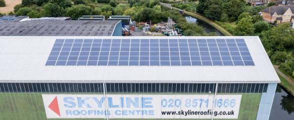Solar case studies: Skyline Roofing